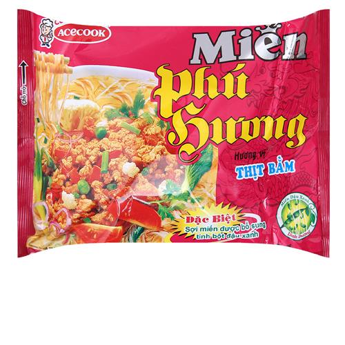 Miến Phú Hương thịt bằm  58g