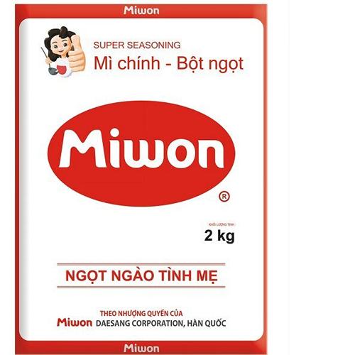 Bột ngọt MIWON 2kg (M)
