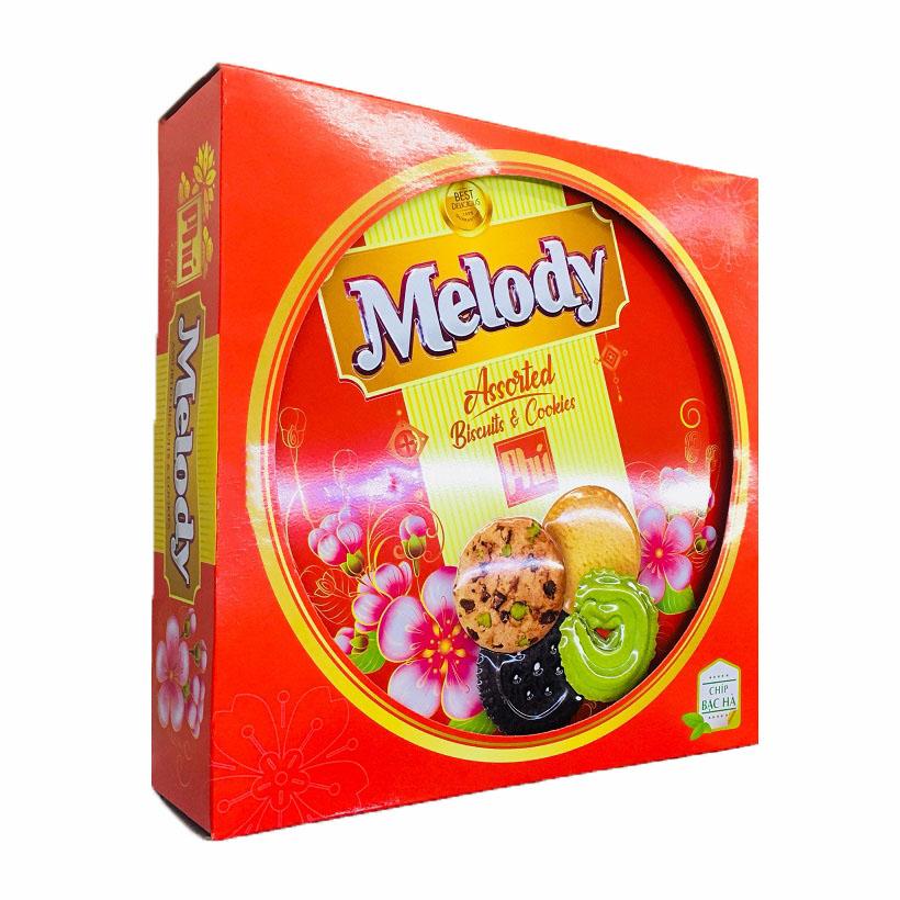 Bánh quy xốp Melody các vị 350g