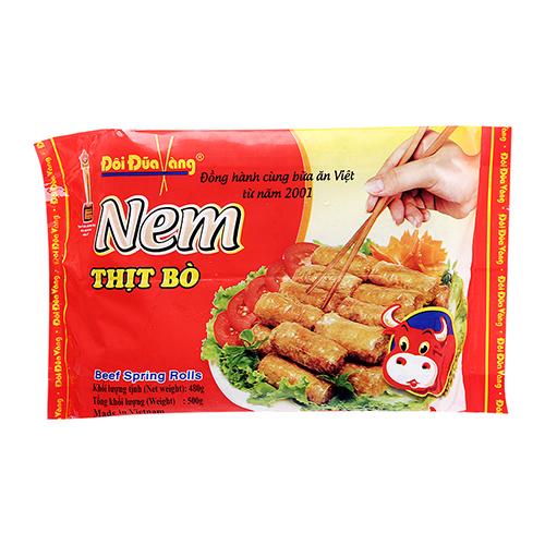 Nem Thịt Bò 500g Đôi đũa vàng