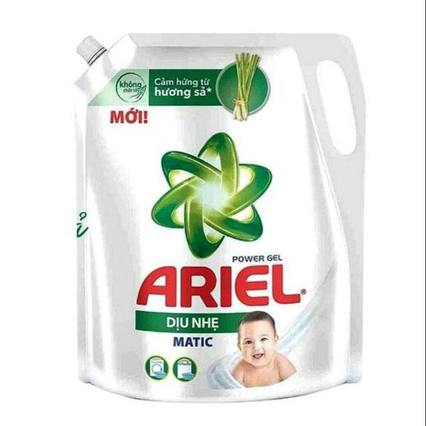 Nước giặt ariel dịu nhẹ hương sả  3.25kg