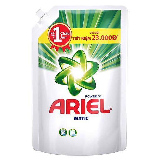 Nước giặt Ariel Đậm Đặc dạng túi 1.4 kg