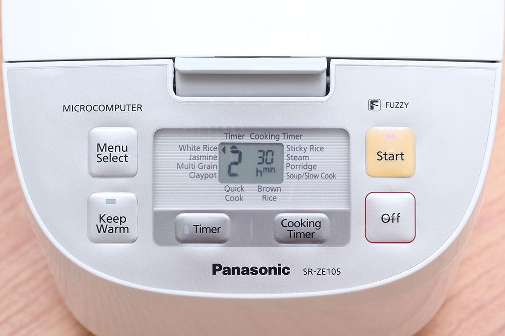 Nồi cơm điện Panasonic 1 lít SR-ZE105WRA