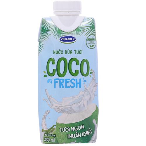Nước dừa tươi Coco Fresh Vinamilk 330ml
