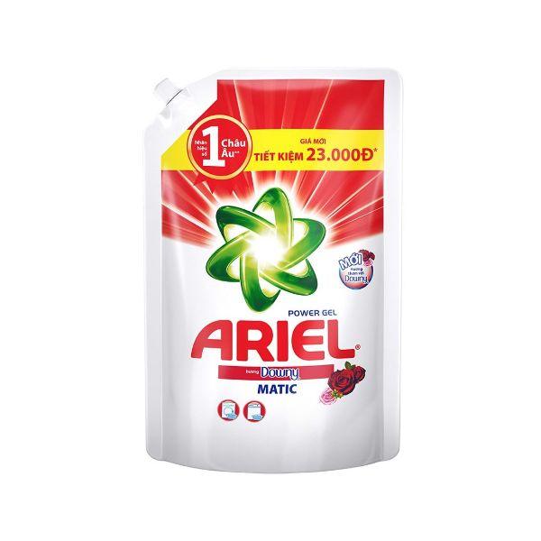 Nước giặt Ariel hương Downy matic túi 2 lít