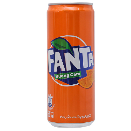 Nước giải khát Fanta cam 330ml