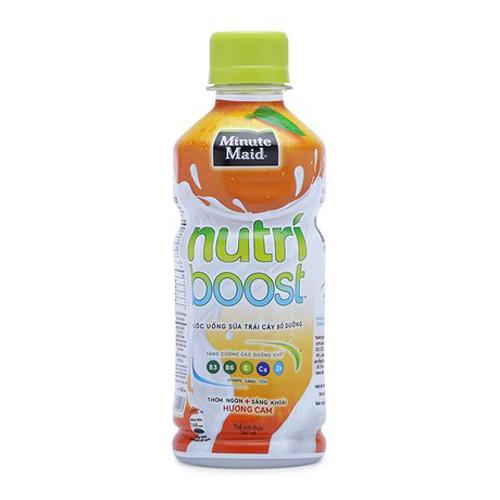 Nước uống Nutri cam chai 297ml