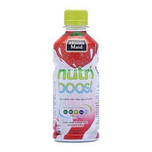 Nước uống Nutri DÂU chai 297ml