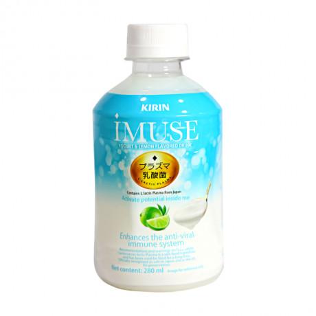 Nước lợi khuẩn Imuse vị sữa chua và chanh 280ml