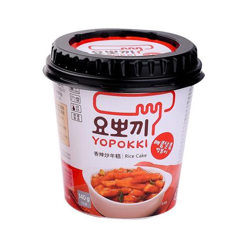 Bánh gạo Yopokki vị cay ngọt cốc 140g