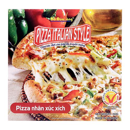 Pizza nhân xúc xích 350g