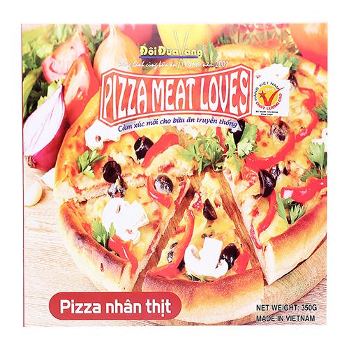 Pizza nhân Thịt nguội 350g