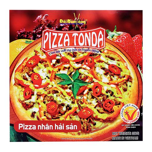 Pizza nhân Hải Sản 350g