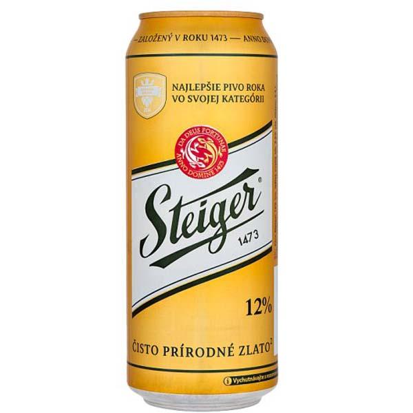 Bia  Steiger 1473 12% lon 500ml