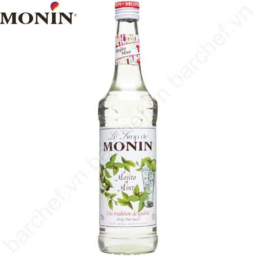 Siro Monin bạc hà 700ml