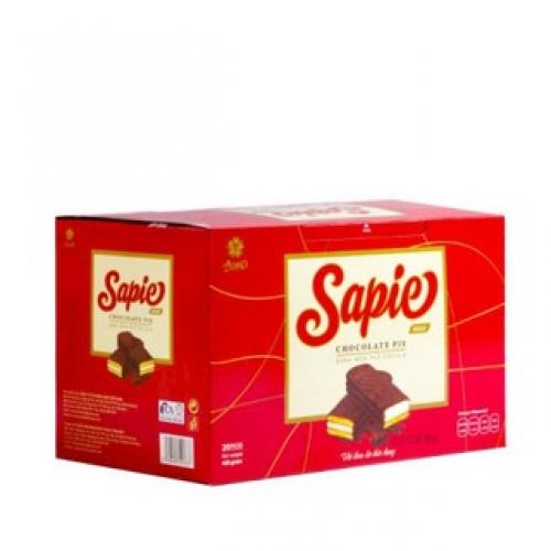 Bánh mềm phủ Chocolate Sapie 300g