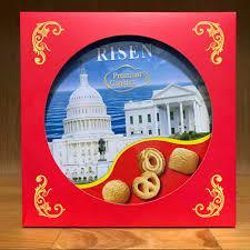 Bánh quy bơ Risen đỏ 454g