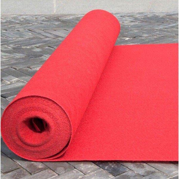 Thảm đỏ trơn
