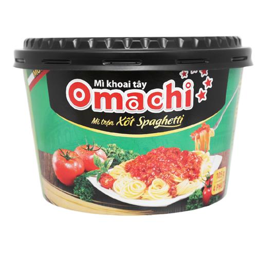 Mì khoai tây Omachi xốt Spaghetti 105g