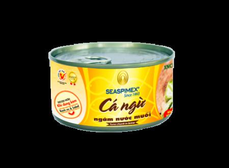 Cá ngừ ngâm nước muối 185g
