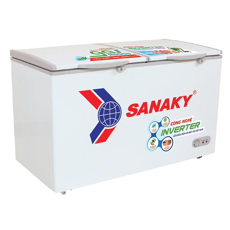 Tủ đông 2 ngăn Sanaky 400 lít VH-5699W3