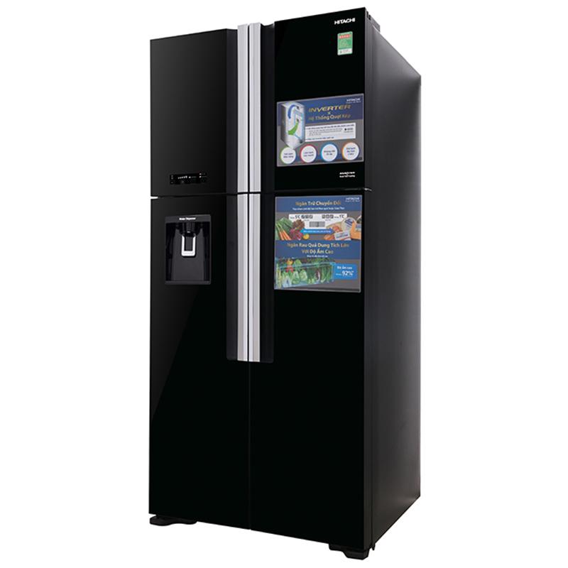 Tủ lạnh Hitachi Inverter 540 lít R-FW690PGV7X-GBK
