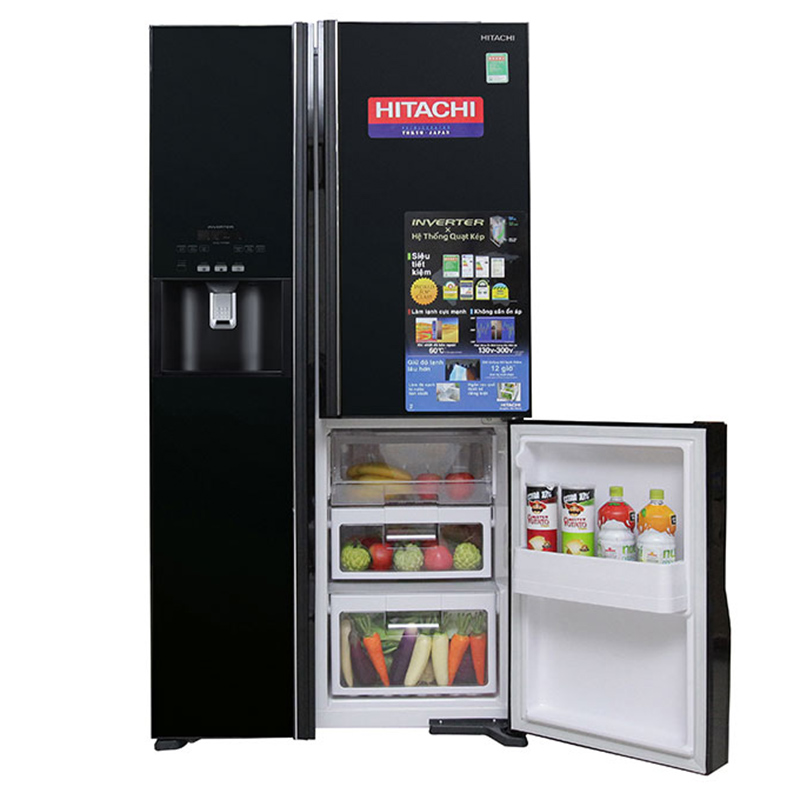 Tủ lạnh Hitachi Inverter 584 lít R-FM800GPGV2 GBK