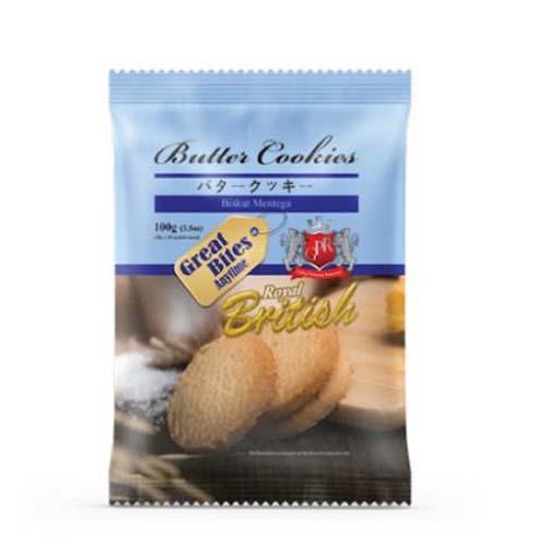 Bánh quy Coconut Cookies xanh 100g