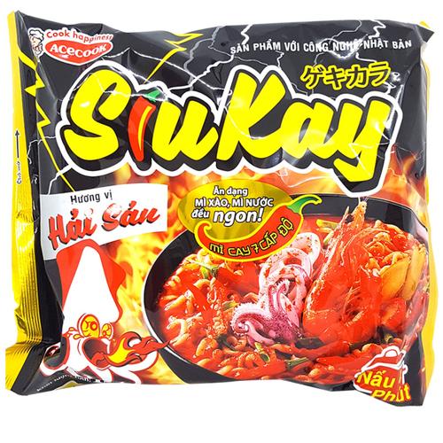 Mì SiuKay hương vị hải sản 128g
