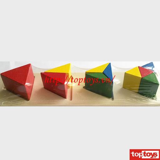 Toptoys Học phân số hình tam giác DS006