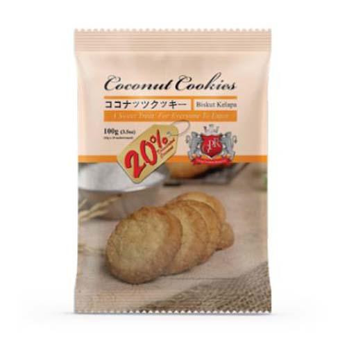 Bánh quy Coconut Cookies vàng 100g