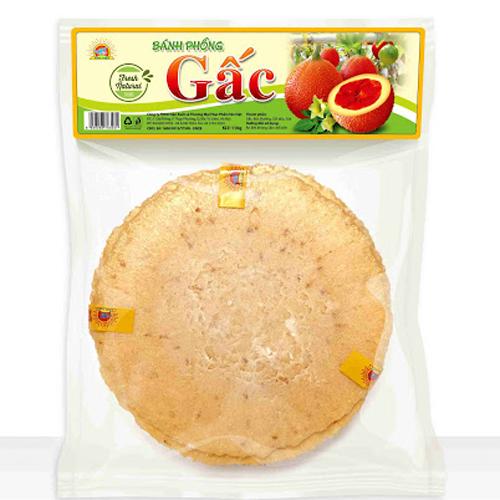 Bánh phồng gấc Tân Việt 130g