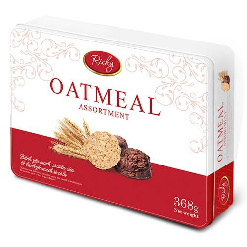 Bánh yến mạch SCL Richy Oatmeal HT 368g