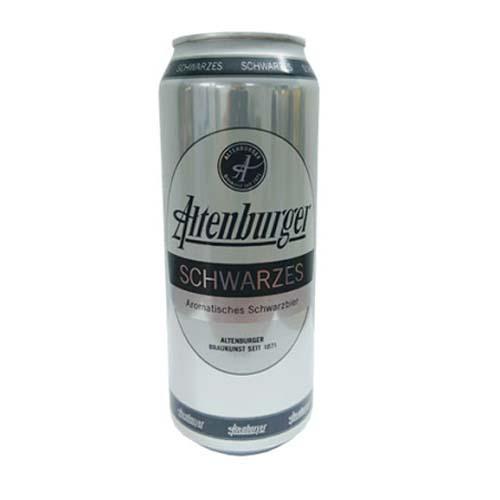 Bia Altenburger Schwarzes 4.9% – lon 500ml