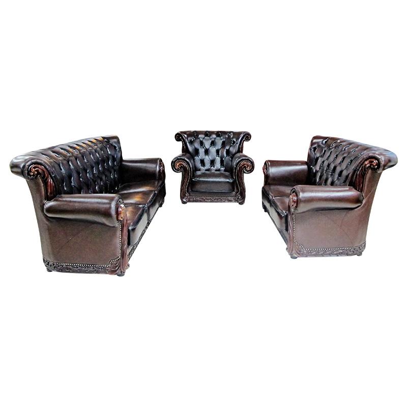 Bộ Sofa da UNTB304-08