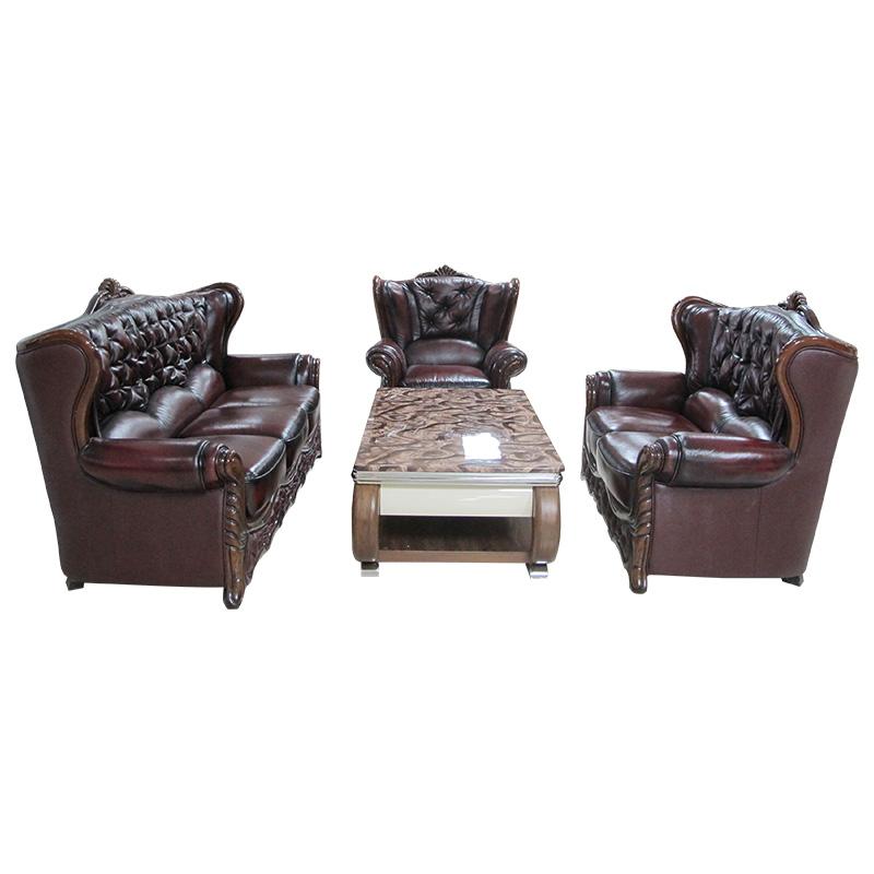 Bộ Sofa da UNTA35B