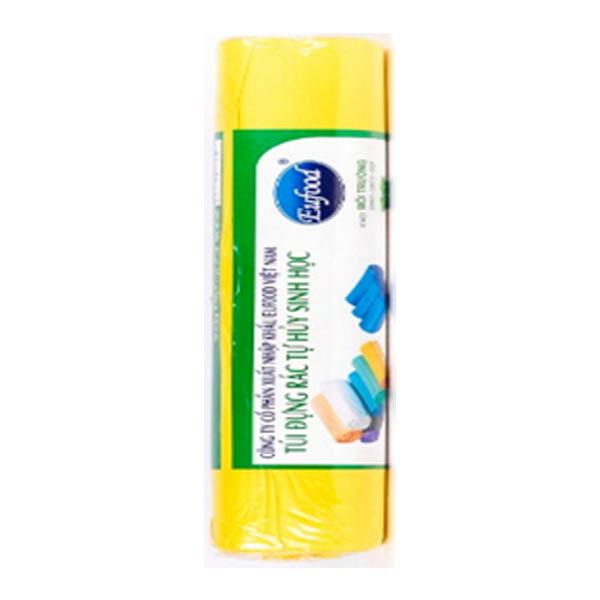Túi đựng TP tự hủy Eufood màu vàng 60 x 68cm * 25pcs