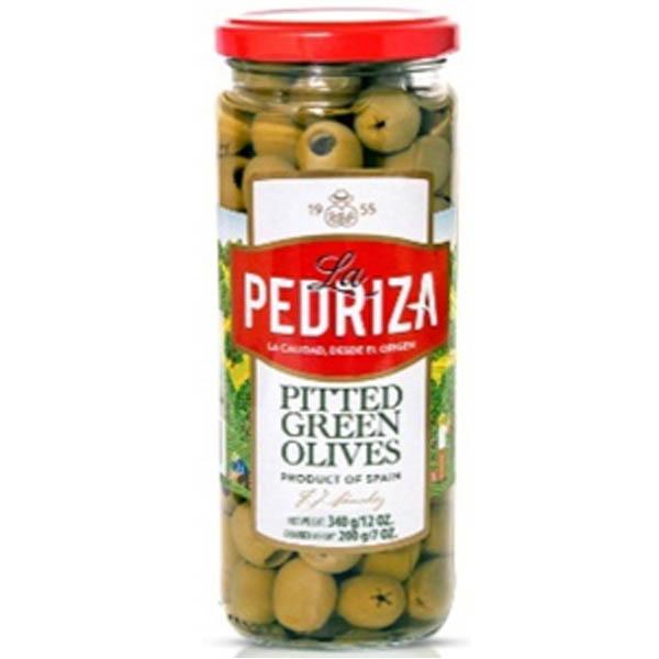 Quả oliu xanh tách hạt hiệu La Pedriza 340g