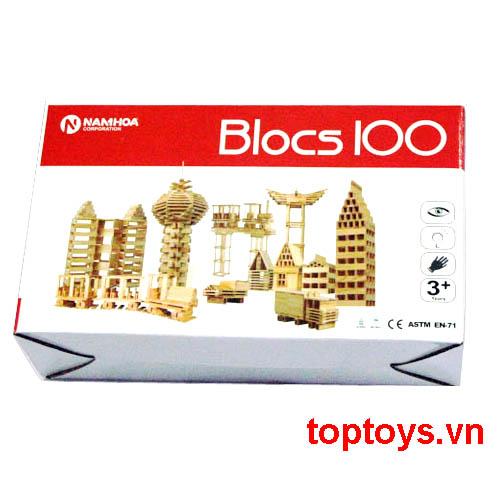 Đồ chơi lắp ghép Blocs 100pcs NH120
