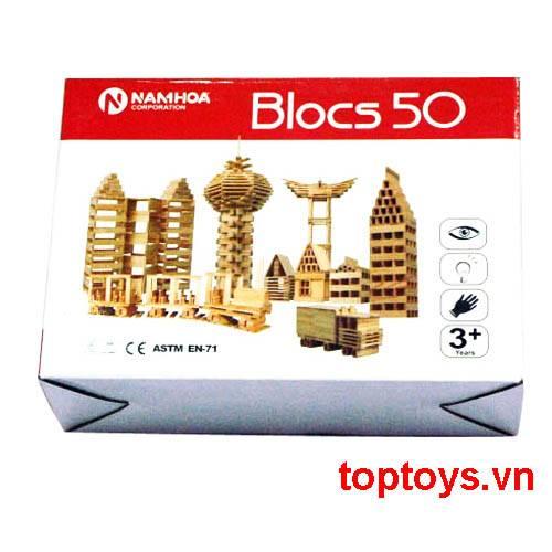Đồ chơi lắp ghép Blocs 50pcs NH119