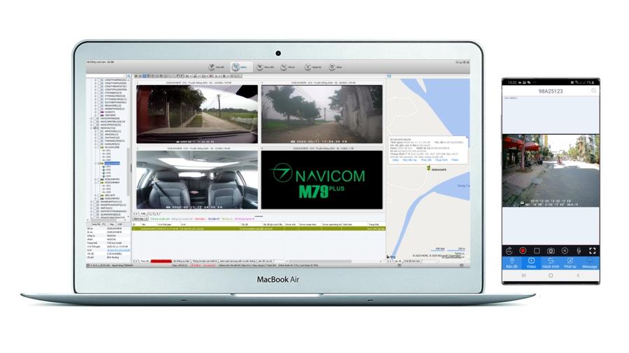 lắp camera hành trình xe ô tô giá tốt