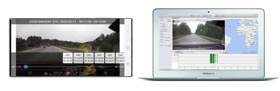 lắp camera giám sát hành trình xe