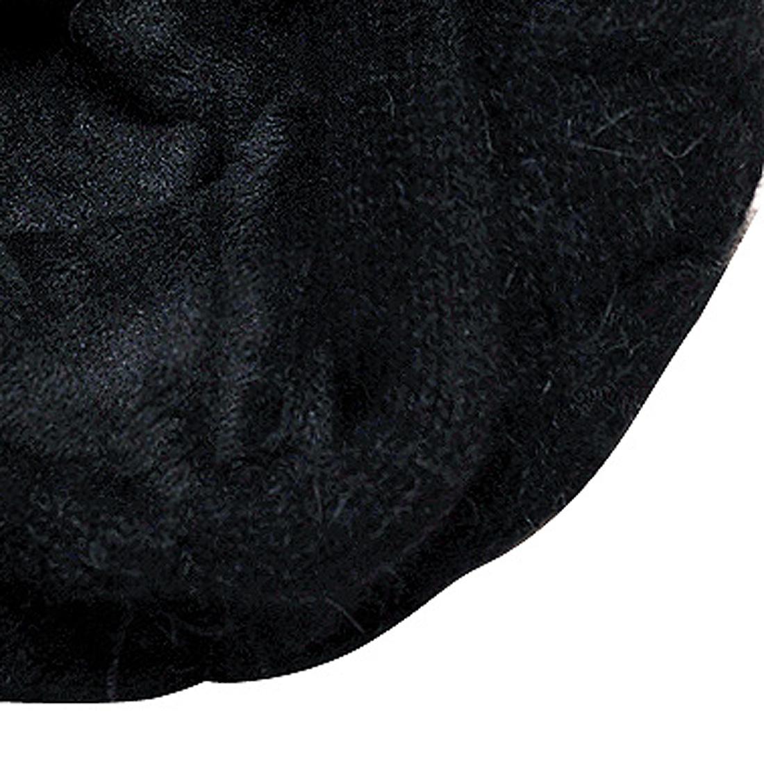 Mũ len thời trang cao cấp màu đen EH48-3