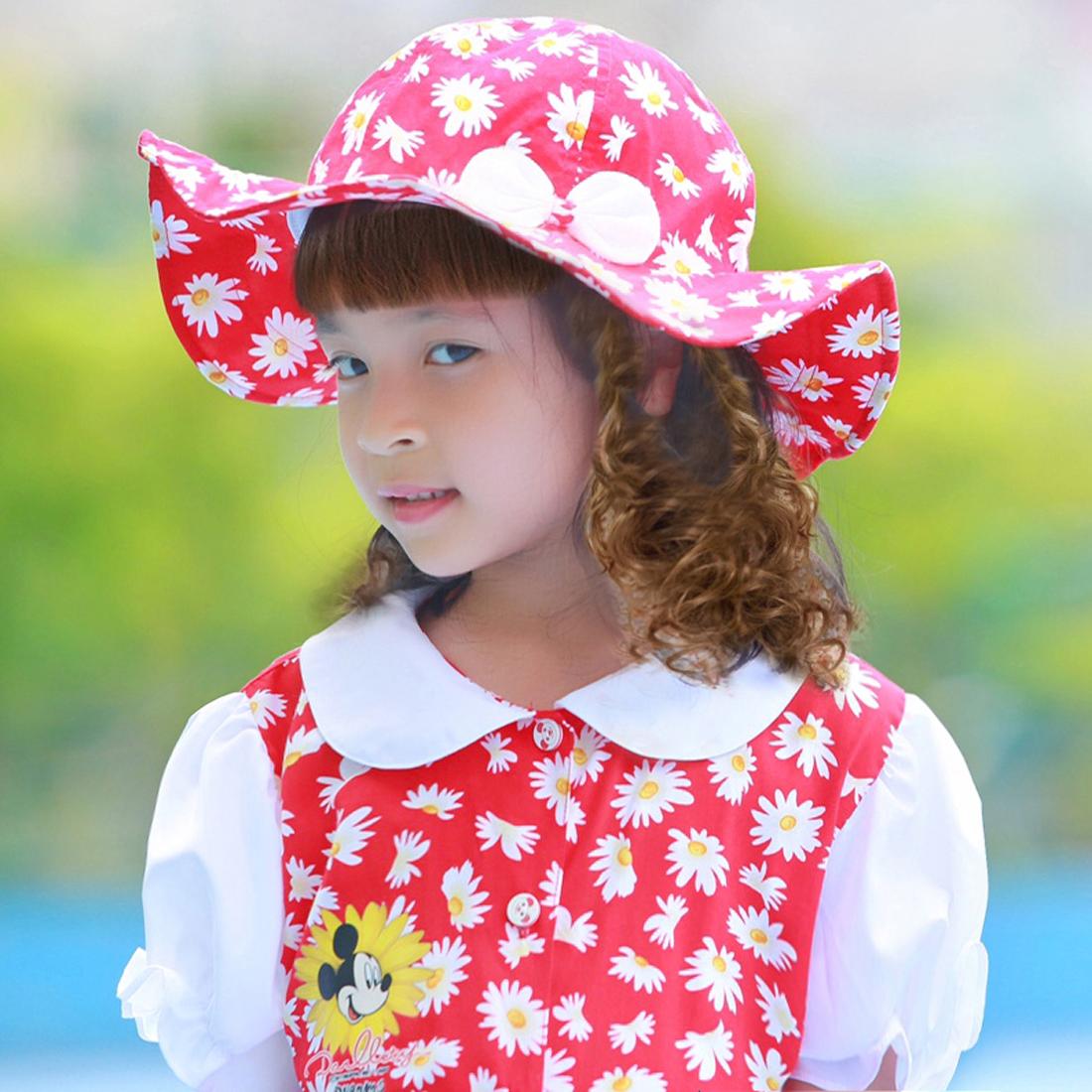 Bộ váy kèm mũ trẻ em hoa đỏ EK01