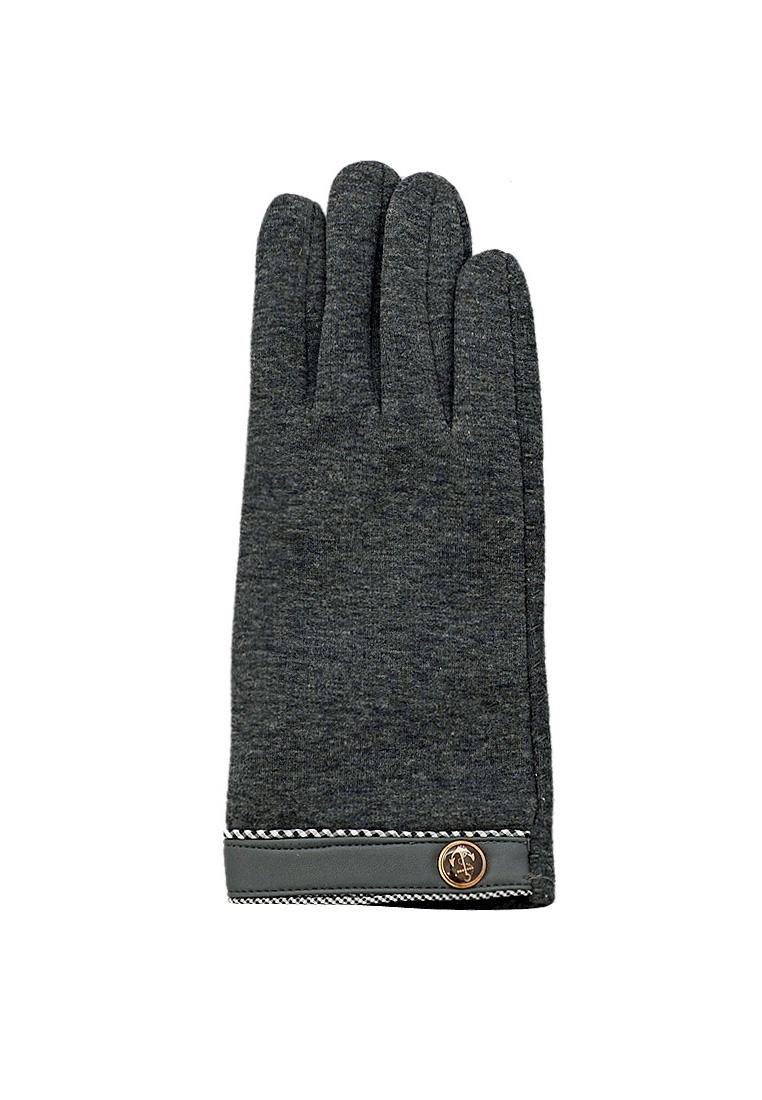 Găng tay nam vải UMI lót lông EGM90