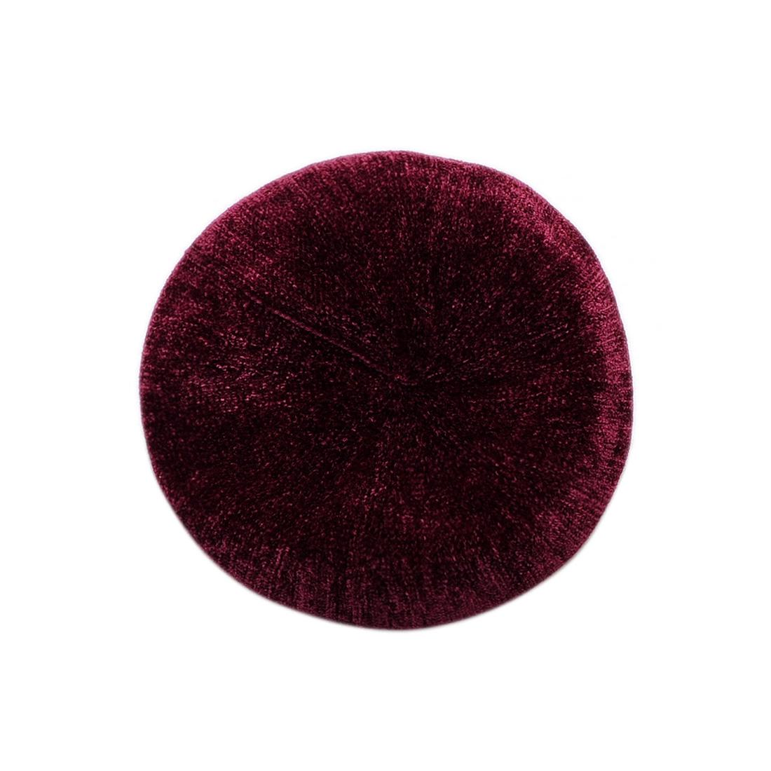 Mũ nồi len thời trang cao cấp màu đỏ đô EH44-6