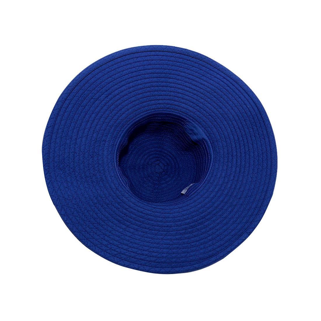 Nón nữ vành rộng cao cấp màu xanh biển EH19-3
