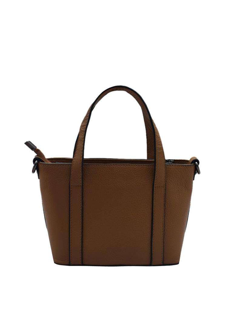 Túi xách nữ ELMI da bò thật cao cấp màu bò EB164