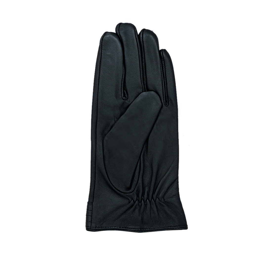 Găng tay nam da dê thật cao cấp màu đen EGM96
