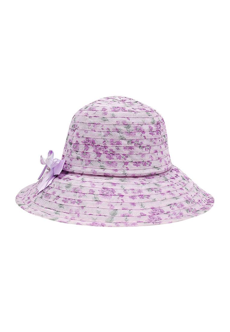 Mũ vành vải voan thời trang cao cấp màu tím EH34-4